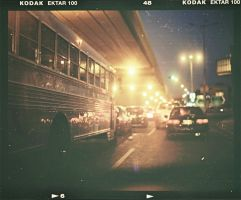 Night lights my dusty Ektar by Fahad0850