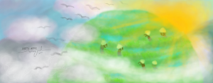 Morning on the clouds by mitazu08
