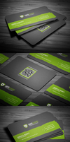 Free Rounded Corporate Business Card by FlowPixel