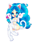 Felicia Chibi by Spookie-Sweets