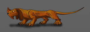 Fearsome Critter Axehandle Hound by Scatha-the-Worm