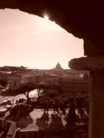 View on the Vatican by jmasker
