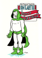 Jimmy Corrigan as the Spectre by whoisrico