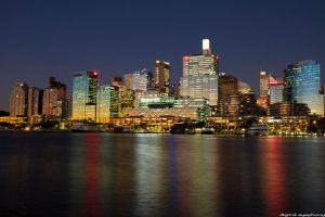 Sydney City by marbleberry