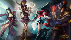 League of Legends - My Top 4 by Drayle88