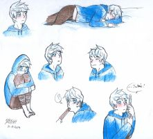 Jack Frost Faces by gakumi