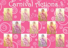 Carnival action sets by chupla