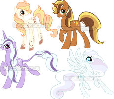 Mare Pony Adoptables 8 by Sakuyamon