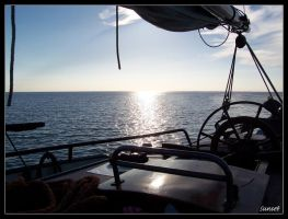 waterscape from boat by motograph