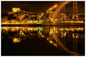 Oporto by Night by JoseMelim