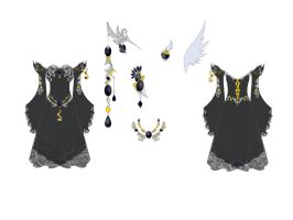 Onyx Dress Design by Eranthe