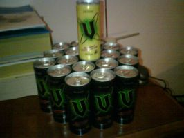 V - hexagon +energy drink+ by Doomblade2712