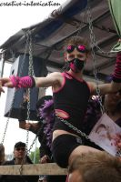cyber goth dance on truck by creativeIntoxication