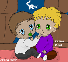 Alpha and Bravo Babies by cmr-1990