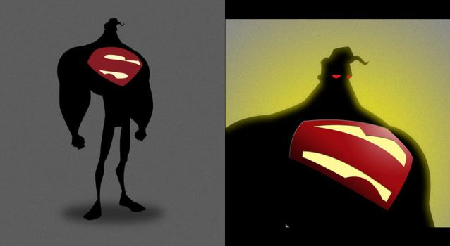 supes silhouette by awgie