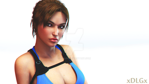 a touch of realistic Lara Croft by xDLGx