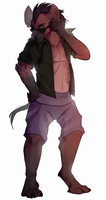 [AT]Spastical-Hyena by silent-hiII