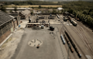 These are not toys (tiltshift) by hakkat