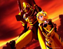 Kagamine Rin: The 10th Child by 2ble-ZZ