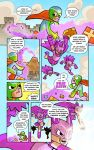 Make A Wish comic p3 by DerekHunter