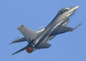 F-16 High Alpha by aero10