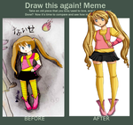 Before and After meme. by xJewiex