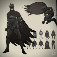 Batman V1 by dionbello