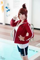 Dangan Ronpa: Aoi Asahina- Just Keep Swimming! by BlackRoseMikage