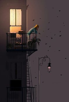 Pensive. by PascalCampion
