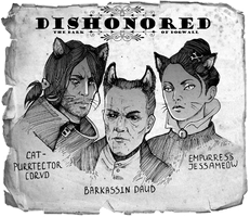 Dishonored: the bark of Dogwall by Shaidis