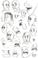 Face Study 04 by Phobic42