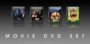 Movie DVD Icons 8 by manueek