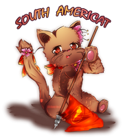 APH OC Catalia South America by GeekyKitten64