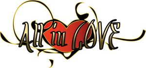 All in LOVE new logo by Uty-Bacalaito