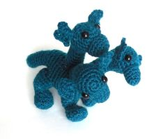Hydra Amigurumi/Plush Toy (pattern available) by StarbeamerPatterns