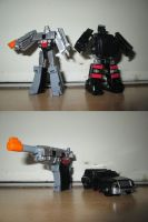 Reveal the shield - Megatron and Trailcutter by KrytenMarkGen-0