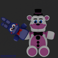 Funtime Freddy Plush by jorjimodels