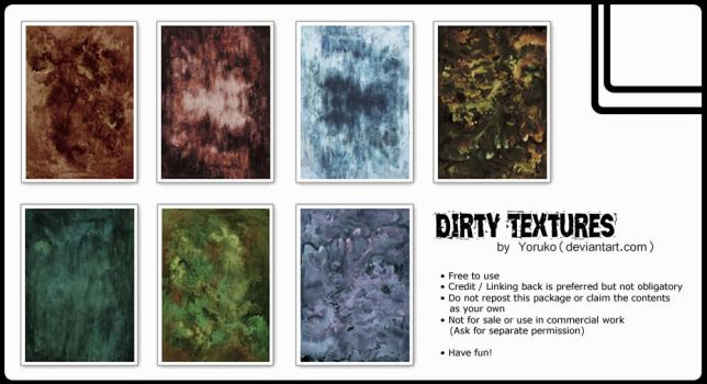 Dirty Textures by Yoruko