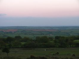 Evening, up the Moors by 666squirrelOFdeath