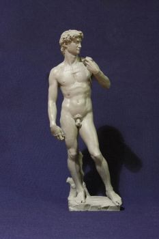 3D Print of David statue - 20 cm tall by Hal8998