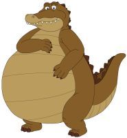 Louis the chubby Alligator by MCsaurus