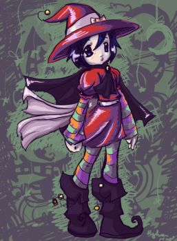 Hallo-Witch Moku by hylianmage