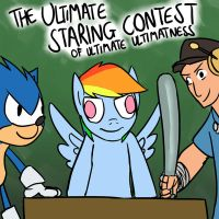 The Ultimate Staring Contest by timsplosion