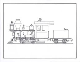 Eustace, The Chunky 0-4-0. by gunslinger87