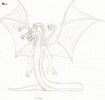 New Typhon sketch by Crystaldemon93
