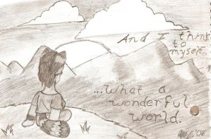 'What a Wonderful World' by catqueen5