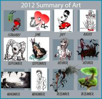 Best of 2012 by aaawhyme