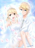 Link x Lucy request by Sylvae00