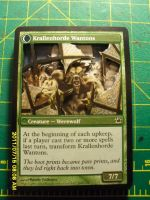 double sided innistrad by mtg3dalters