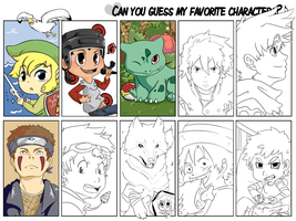 Who's my favorite character meme by ToniBolonie